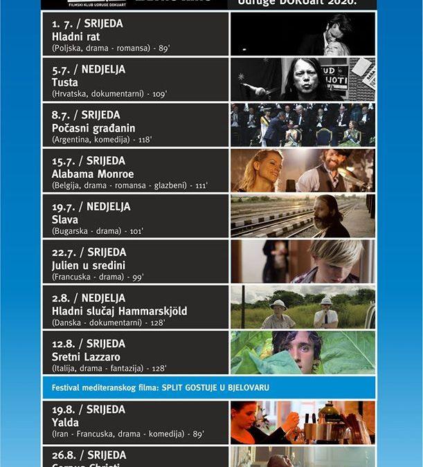 Filmodrom – Ljetno kino 2020.