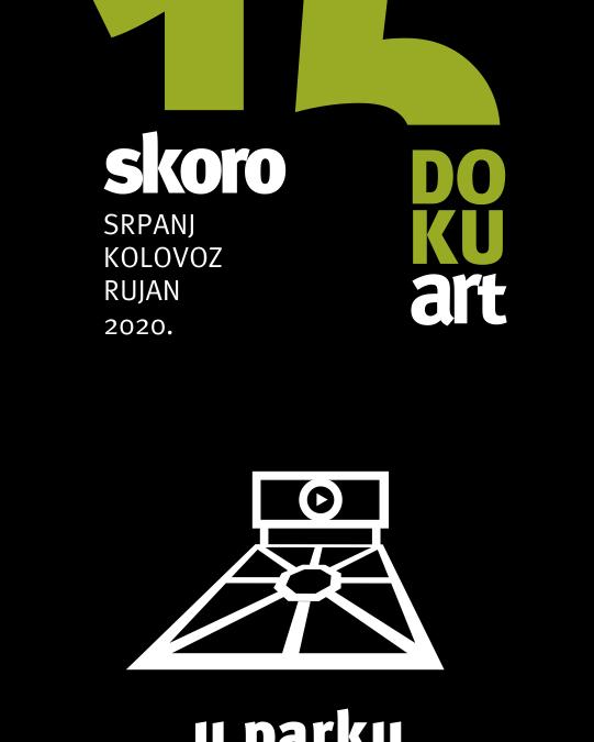 Skoro 15.DOKUart festivalski program – u parku