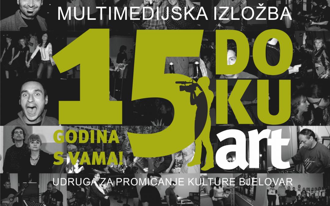 Multimedijska izložba 15 godina DOKUart festivala